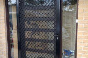 7mm diamond grille barrier door and screen