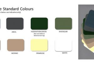 all weather kingston awning colours