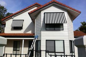 automatic fabric awnings