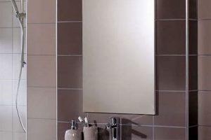 bathroom mirror cupboard door