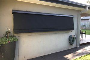 external short automatic awning