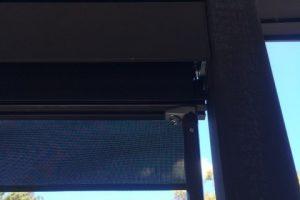 external spring arm awning