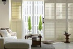 main room showcase with internal blinds
