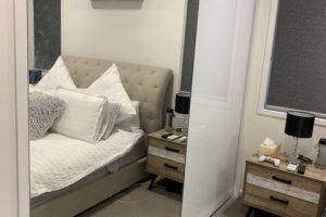 mirror wardrobe door in main bedroom