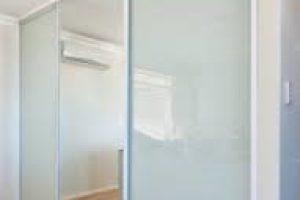 mirror wardrobe door open space