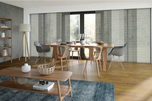 panel glide in living and dining room