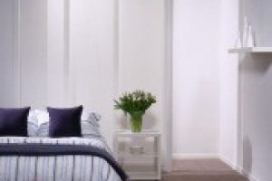 panel glides in bedroom
