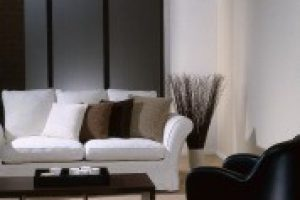 panel glides in lounge room