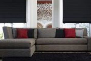 rollerblinds in lounge room
