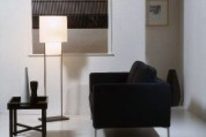 roman blinds in living and lounge room