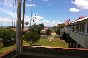 veranda awning outdoors