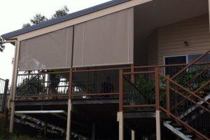vertical veranda awning