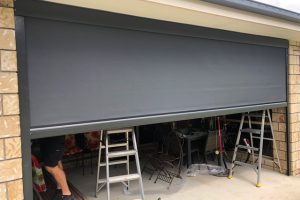 ziptrak external garage awning