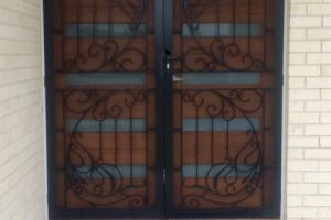 colonial cast safety doors