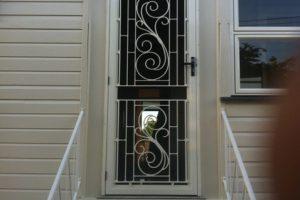 front colonial door