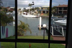 screenguard window near water
