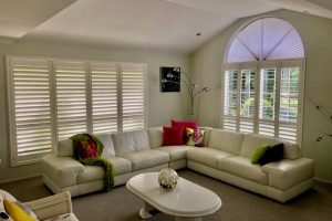 shutters in living space lounge room
