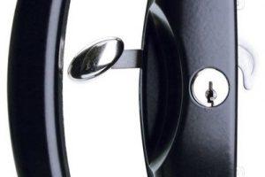 sliding door lock servicing