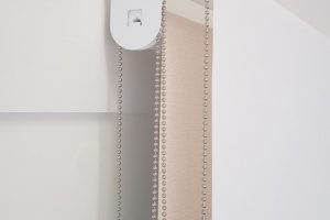 Dual roller blinds pulley